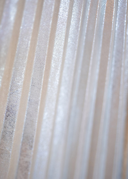 close up image of sheet metal with a reflective surface