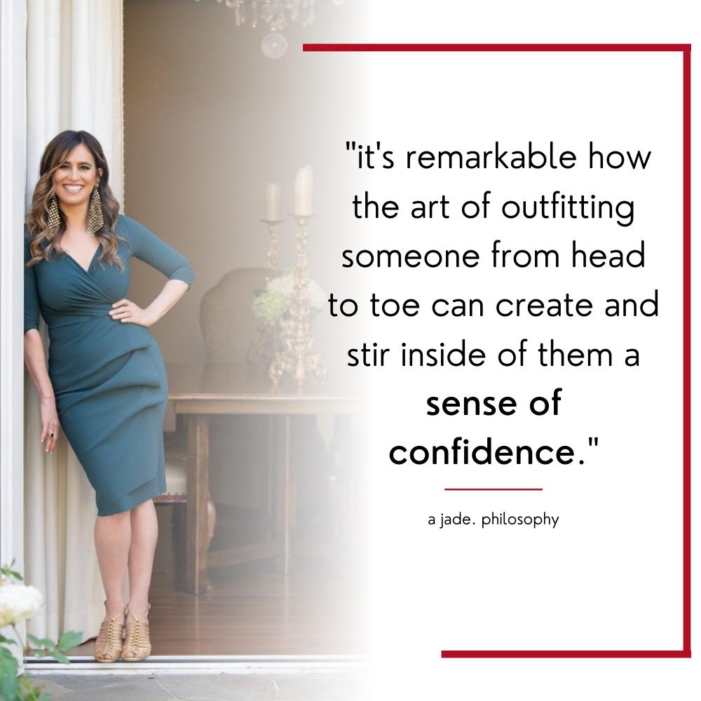 The right capsule wardrobe will create a sense of confidence.